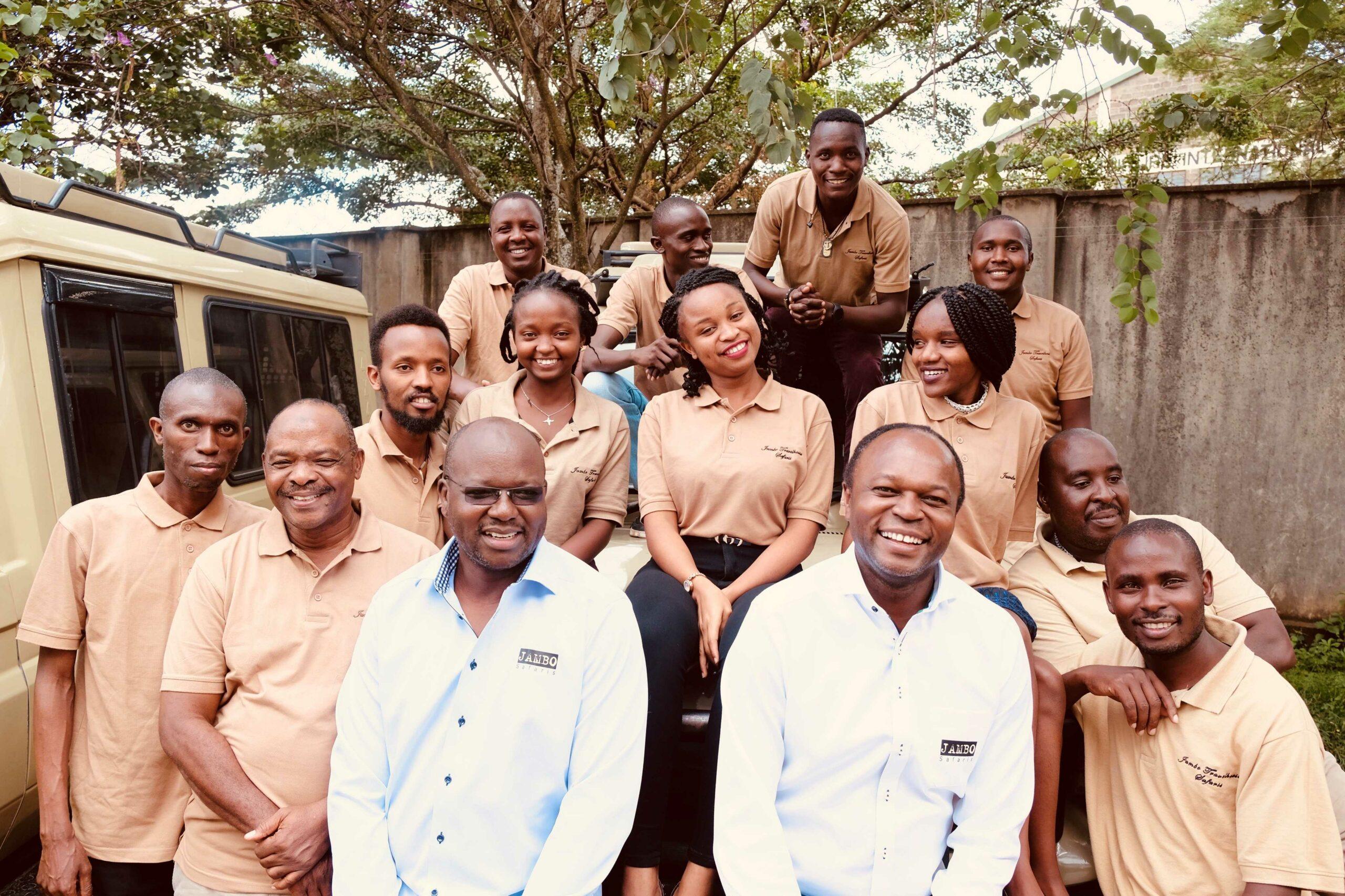 Jambo staff and directors